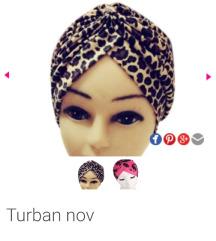 Turban nov tigrasti