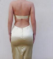 Saten haljina