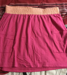 Suknja pink
