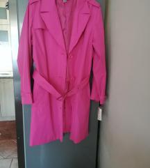 Roze mantil Novo