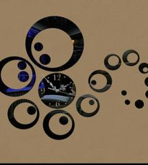Akcijaa.. 3D dekorativni zidni sat