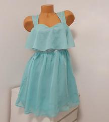 NELLY 👗mint,prelepa nova haljina! 36/slabiji 38