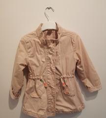 H&M jaknica za devojcice 2-3 godine