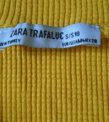 Zara crop top majica