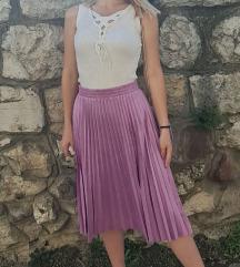 Nova lila midi suknja