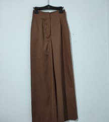 Palazzo pantalone,visok struk, vintage