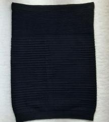 Orsay intenzivno crna uska mini suknja, kao nova