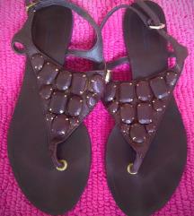 Zara braon sandale