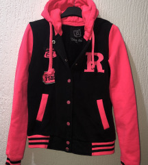 Neon pink koledžica