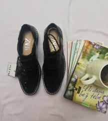 Zara crne oxford cipele na platformu NOVO! 36/37