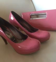 Roze cipele +gratis torbica