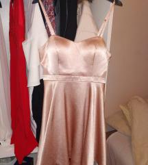 Nova svecana satenska haljina snizena 1200
