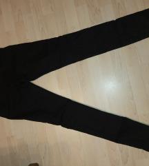 Skinny crne pantalone Hm