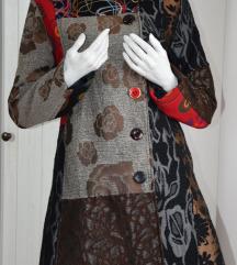 Sareni kaput ( Desigual stil )