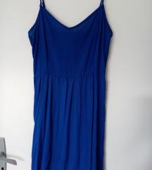 H&M kraljevsko plava haljinica, novo