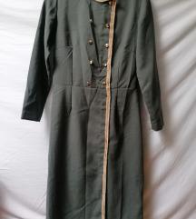Vintage midi neobicna haljina vel.M