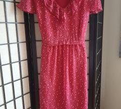 Haljina M ciklama roze prelepa