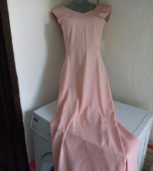 Roze duga haljina XS