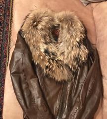 Kozna jakna sa pravim krznom