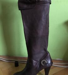 Čizme od prave kože vel. 37