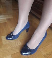 LASOCKI teget kozne cipele NOVE 39/25,5cm