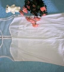 Bela bluza providni deo