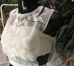 bela top majca