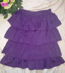 Ljubicasta suknja