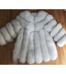 Red Fox fur fashion bunda od pravog krzna, NOVA❤