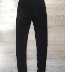 DIvided crne pantalone  -H&M