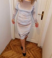 Plisana haljina vel. M