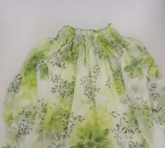 Leprsava  floralna bluza