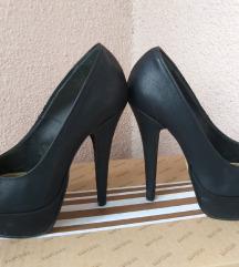 Crne kao nove elegantne cipele vel 36,5