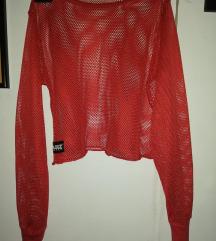 Crvena mrežasta majica
