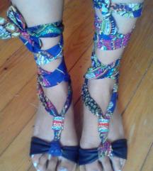 Sandale na vezivanje
