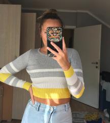 NEW YORKER crop top džemper