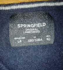 Teget springfield dzemper nov vuna 100 %
