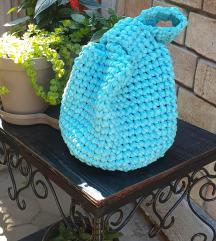 Pletena torba rucni rad