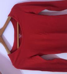 Majica dugi rukavi crvena