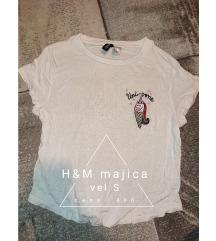H&M bela majica S