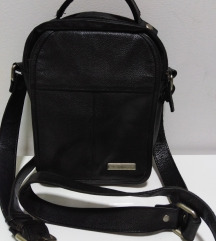 MONA torba prirodna 100%koža 27x20cm