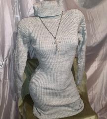Silver haljina+ ogrlica na poklon!