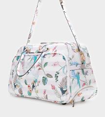 💋 PARFOIS Floral Print Travel Bag 💋 NOVO