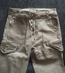 Mslinasto zelene pantalone