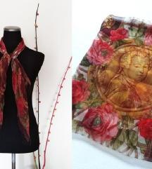 JOOP veca cvetna marama-(100%svila)
