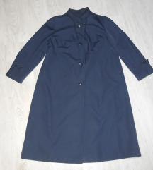 Predivan teget plavi mantil bukvalno nov