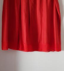 Alberta Ferretti svilena suknja, original