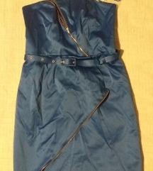 POPUST!!! Moderna plava haljina / SA ETIKETOM