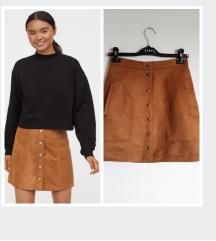 H&M button down suknja, kao nova
