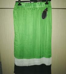 Zelena nova suknja sa etiketom 💚